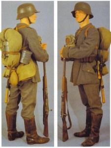 Deutsche Felduniform