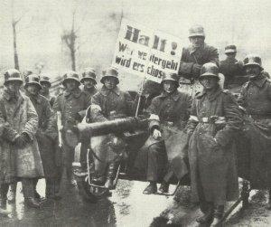 Reichswehrtruppen in Berlin