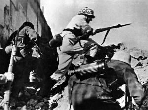 Totenkopf-Soldaten Demjansk 1942