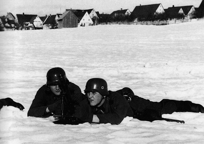 Ausbildung von Totenkopf-Soldaten