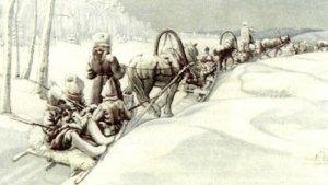Rückzug Weißer Truppen