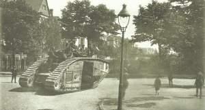 britischer Tank in Köln