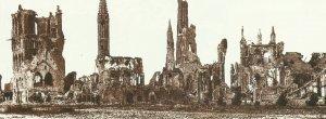 zerstörtes Ypern