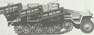 SdKfz 251 Ausf. B mit Wurfrahmen 40