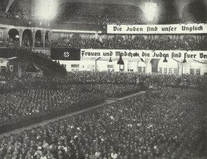 Streicher Massenveranstaltung Judenfrage