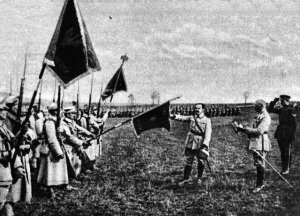 General Jozef Hallers polnische Truppen