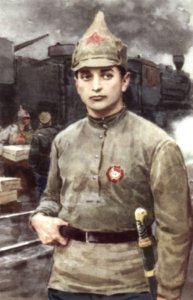 M.V. Tukachevsky ist einer der brillantesten Roten Kommandanten