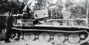 abgeschossene Tiger 'F01'