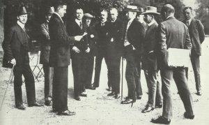 deutsche Delegation in Versailles