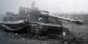 zerstörter Tiger Bückeburg