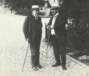 Finanzminister Erzberger und Innenminister Dr. Hugo Preuß