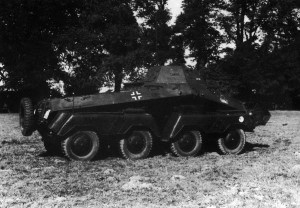 Schwerer Achtrad-Spähpanzerwagen SdKfz 231