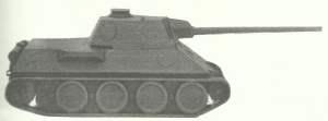 Panther-Entwurf von Daimler-Benz