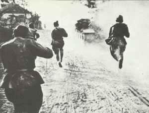 Beginn der russischen Sommeroffensive in Weissrussland