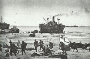 Britische Landung am D-Day