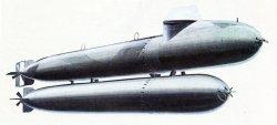 lein-U-Boot 'Neger' oder 'Marder'