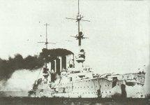SMS Scharnhorst beim Einlaufen in Valparaiso