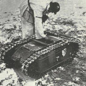 Goliath mit E-Motor