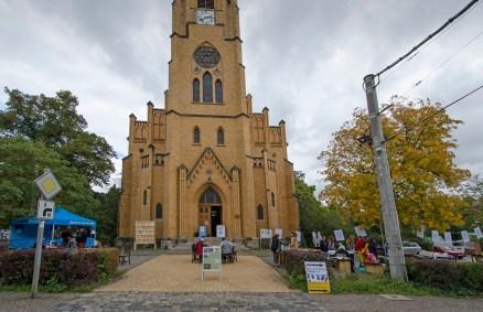 """Interreligiöses Dankfest """"Wir haben Dir die Fülle gegeben"""", 27.09.2015, Kirchplatz Friedenskirche Leipzig"""