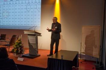 Gert Pickel, Universität Leipzig beim Eröffnungsvortrag