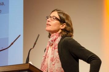 Birgit Glorius von der Technischen Universität Chemnitz referierte über Migration und Integration: Multiple Perspektiven auf ein aktuelles Thema,