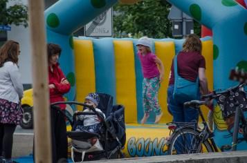Die Initiative Weltoffenes Gohlis beim Gohliser Kinder- und Sommerfest 2016