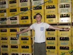 Richard liebt Taiwan Bier!