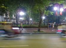 Badminton am Strassenrand