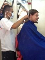 beim frisör