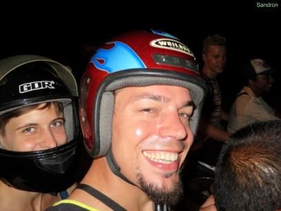 Rollerfahren, ausnahmsweise mal mit Helm