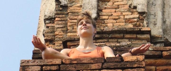 Indie und Lara in Sukhothai