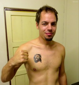 Arons neues Tattoo!!