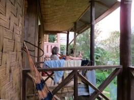 Unser Nachbar für die eine Nacht in Nong Kiauw