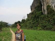 Auf dem Weg zur Höhle