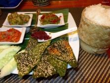 Traditionelles laotisches Essen