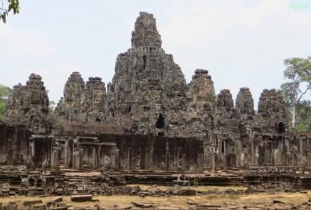 Der prächtige Bayon Tempel