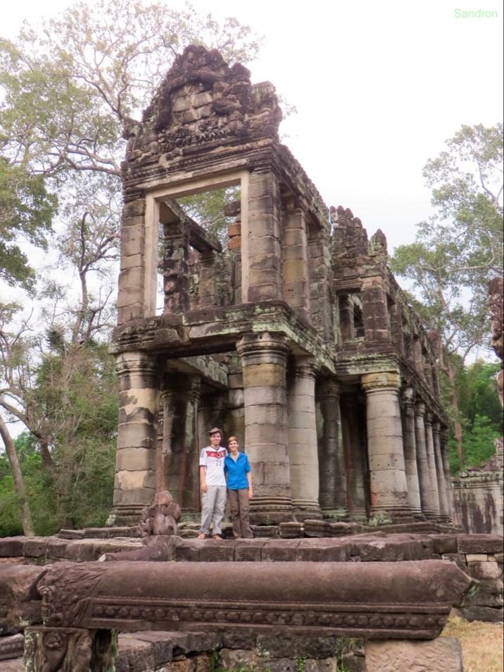 zweistöckiger Minitempel im Tempel