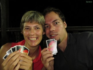 Aron hat gute Karten (wie immer!)