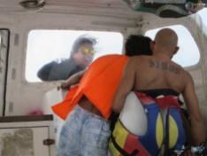 Auf dem Tauchboot