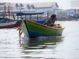 Penjaringan / Jakarta / Kali Ciliwung / Indonesia - 15.06.15