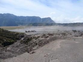Die Aussicht vom Krater