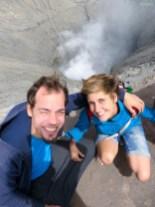 Vulkan-Selfie