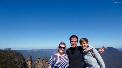 Three Sisters und die Blue Mountains