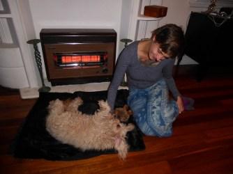 Bella, unser Hundeschaf :-)