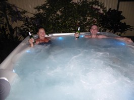 Jacuzzi time