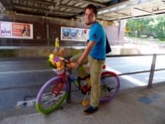 Regenbogen Fahrrad