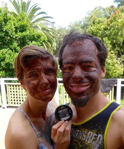 Schokoladen Gesichtsmaske