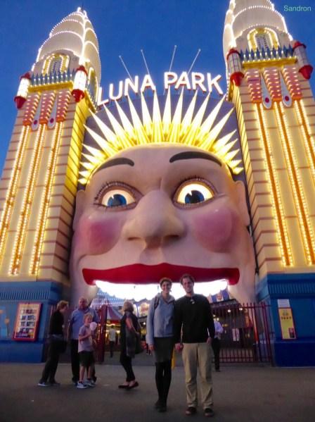 Luna Park Beleuchtung
