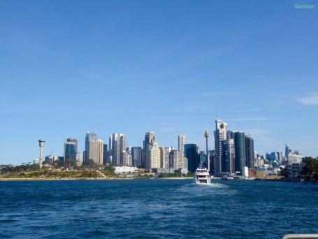 Sydney von der Fähre