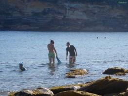 18 Grad und zum 3. Mal ins Wasser...